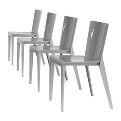 00s Hannes Wettstein 'Alfa' Dining Chair for Molteni & Co Set/4