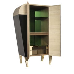 01.03 Collection Green Bar Cabinet