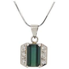 White Diamond Chain Necklaces