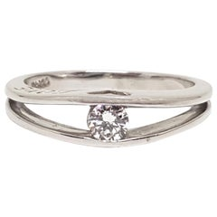 0.25 Carat Platinum Love Forever Diamond Engagement Ring