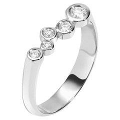 0.27 Carat Diamond 14 Karat White Gold Wedding or Engagement Ring