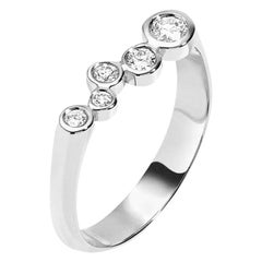 0.27 Carat Diamond 14 Karat White Gold Wedding or Engagement Ring