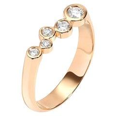 0.27 Carat Diamond 14 Karat Yellow Gold Wedding or Engagement Ring