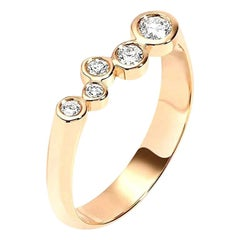 0.27 Carat Diamond 14 Karat Yellow Gold Wedding or Engagement Ring