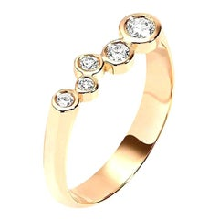 0.27 Carat Diamond 14 Karat Yellow Gold Wedding, graduation or Engagement Ring