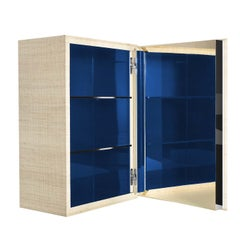 03.03 Collection Blue Wall Cabinet