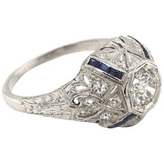 0.33 Carat Art Deco Diamond Ring