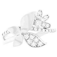 0.40 Carat Butterfly Diamond Ring
