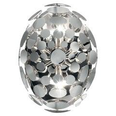 0510/PL30 Disco Ball 2-Bulb Flush Ceiling Light