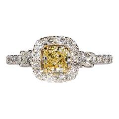 0.53 Carat Diamond Engagement Ring