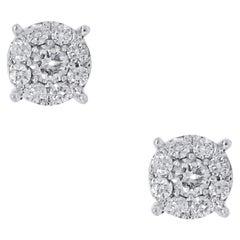 White Diamond More Earrings
