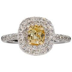 0.63 Diamond Engagement Ring