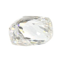 0.68 Carat Faceted Octahedron GIA Certified VS2 D Diamond