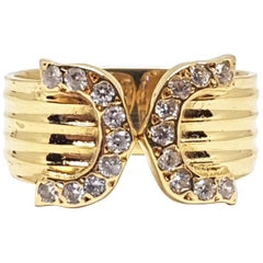 0.72 Carat Yellow Gold Diamond Ring