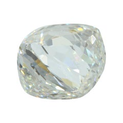 0.73 Carat Cushion Double Rose GIA Certified VVS1 D Diamond