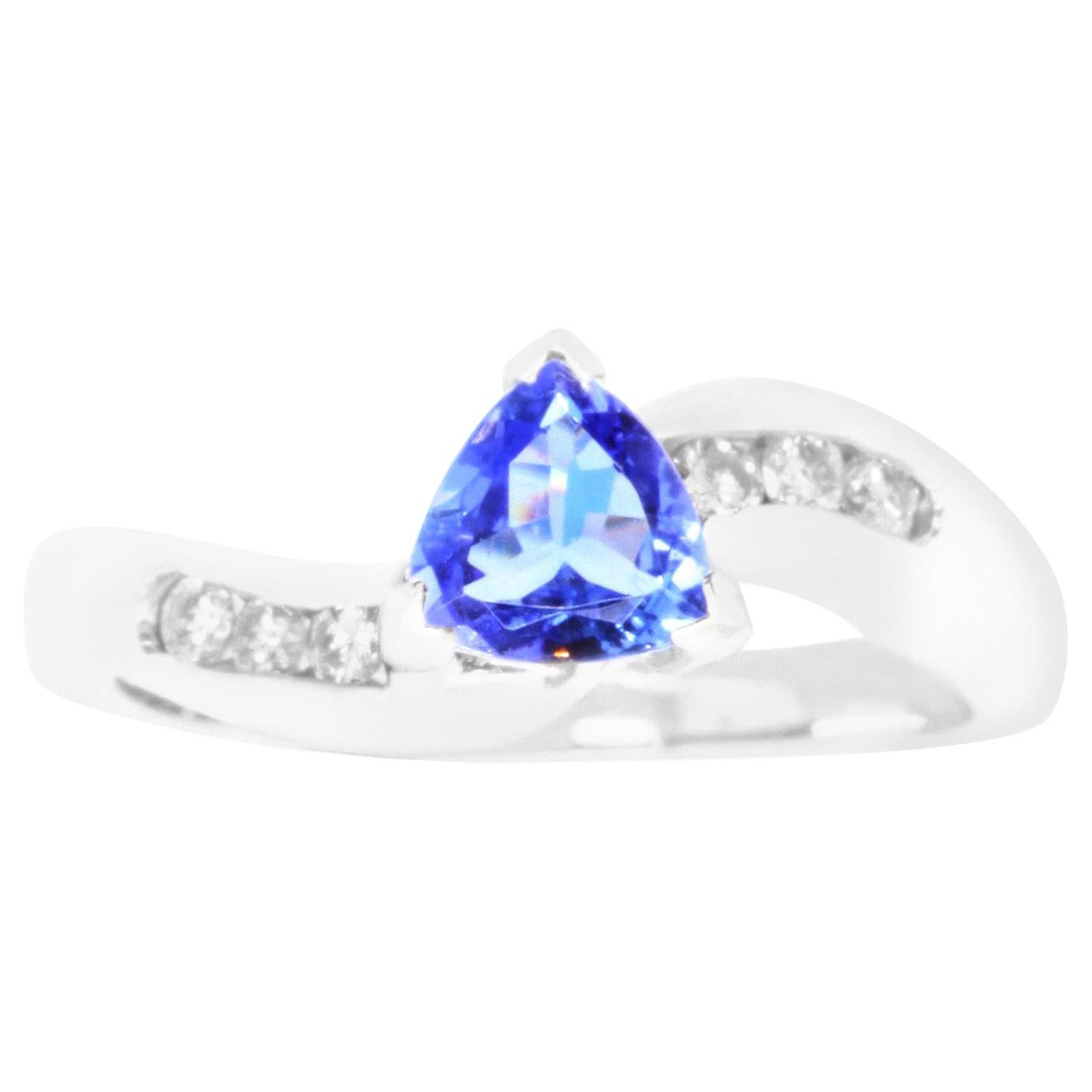 e191b94cfee74c Antique Tanzanite Cocktail Rings - 468 For Sale at 1stdibs