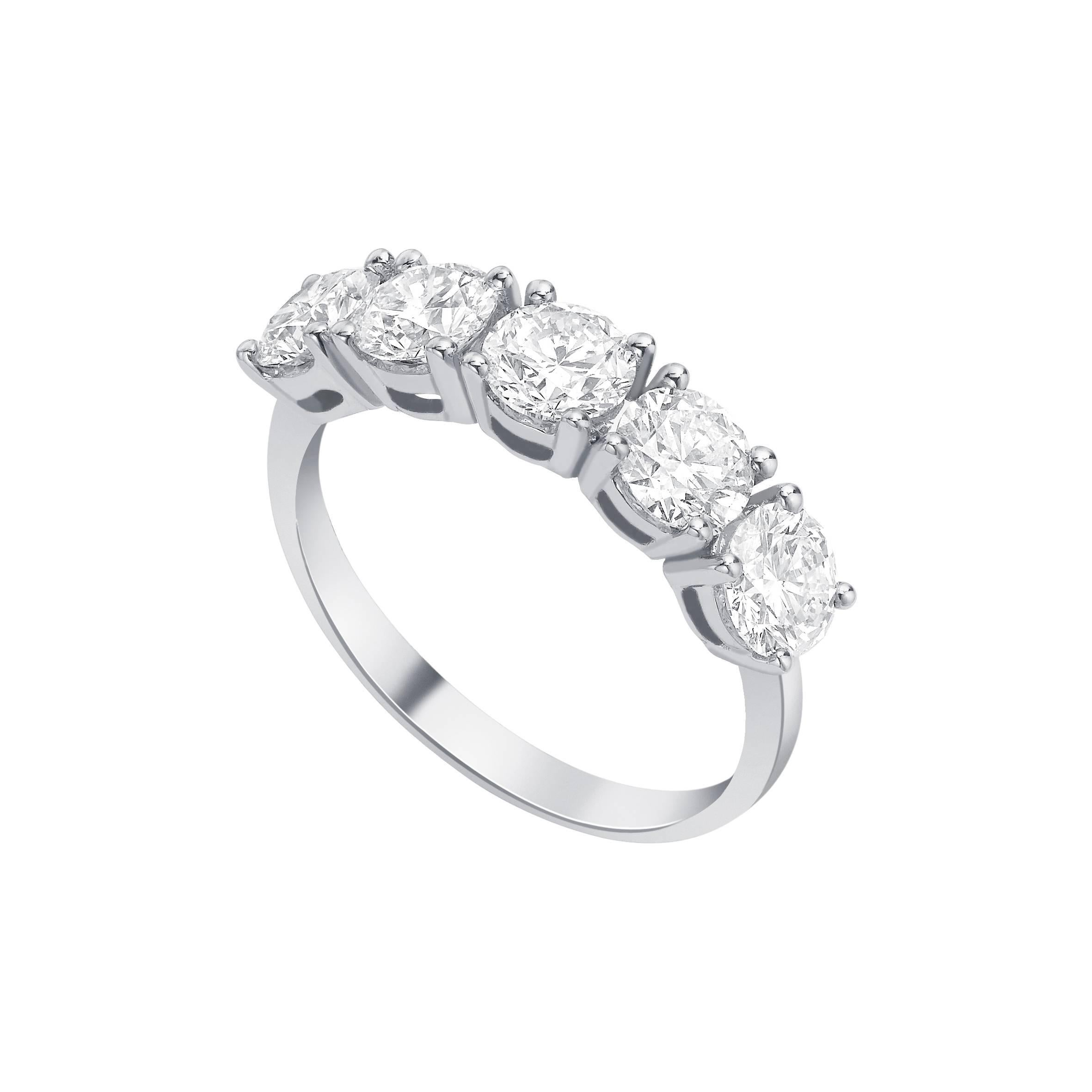 her graff by band wedding round bands collections for diamond eternity