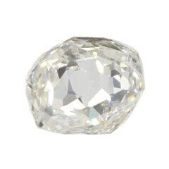 0.77 Carat Cushion Double Rose GIA Certified VS1 F Diamond
