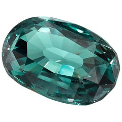 0.86 Carat Oval Alexandrite, GIA Certified