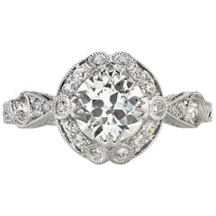 Platinum Engagement Rings