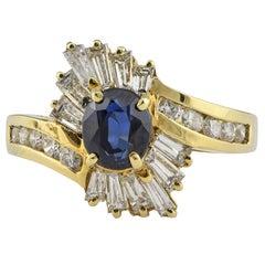 0.94 Carat Sapphire Ring
