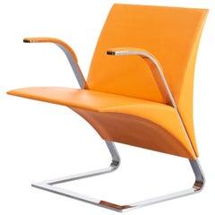 09s Ricardo Antonio 'Ravello' fauteuil with Pelle leather for Poltrona Frau
