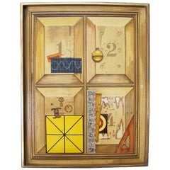 1, 2, 3, 4 - Trompe l'oeil Painting by Kennard M. Harris