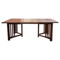 1 78″ Extension Mission Arts and Crafts Trestle Table