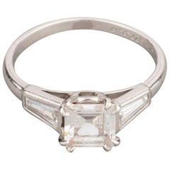 1 Carat Diamond Chaumet Paris Engagement Ring