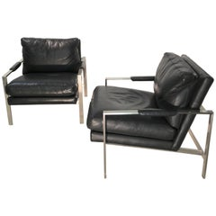 1 Chair - 951 Lounge Chair by Milo Baughman for Thayer Coggin