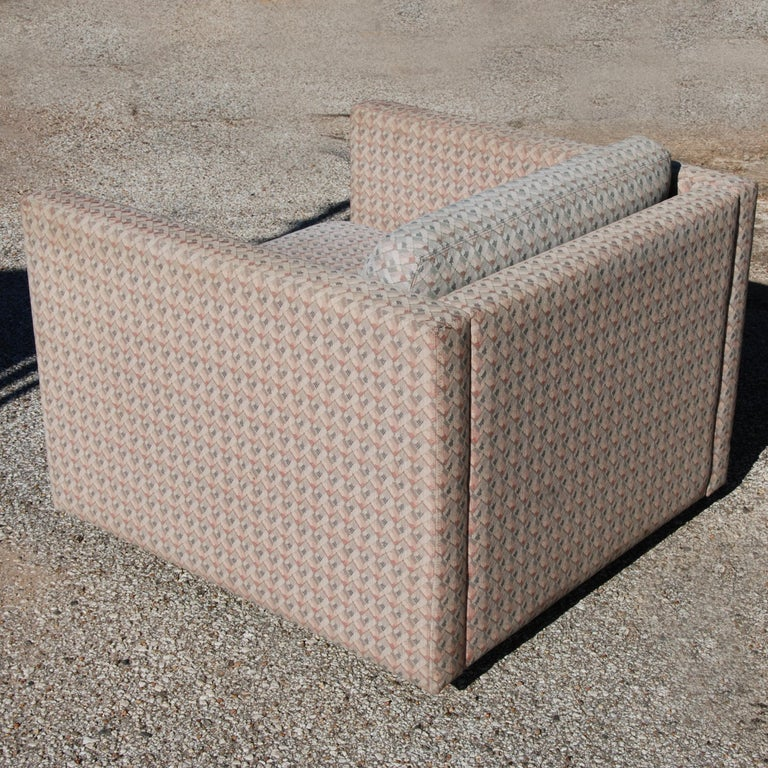 1 Charles Pfister for Knoll Lounge Chair In Good Condition For Sale In Pasadena, TX