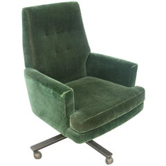 1 Cumberland Pace Collection Mohair Management Chair