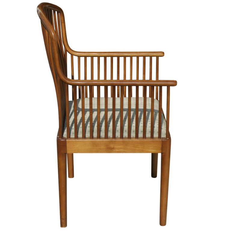 1 Davis Allen for Knoll Oak Exeter Dining Chair For Sale ...
