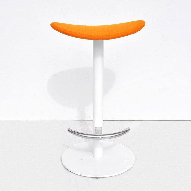 Contemporary 1 Modern Steelcase Enea Counter Stool by Josep Llusca For Sale