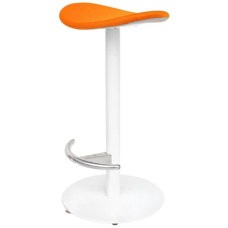 1 Modern Steelcase Enea Counter Stool by Josep Llusca For Sale