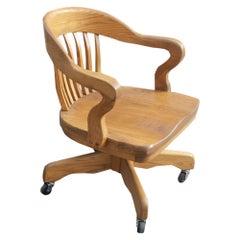 1 Oak Bank of England Chair