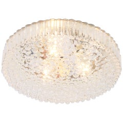 1 of 14 Bubble Glass Flush Mount by Staff, Germany, 1970s