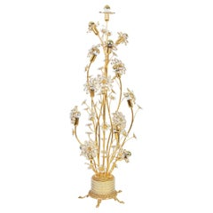 1 of 2 Exquisite Floor Lamp by Palwa, Germany, 1960s