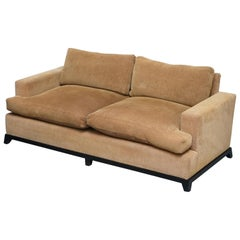 1 of 2 George Smith Signature Square Arm Sofa Feather Filled Cushions