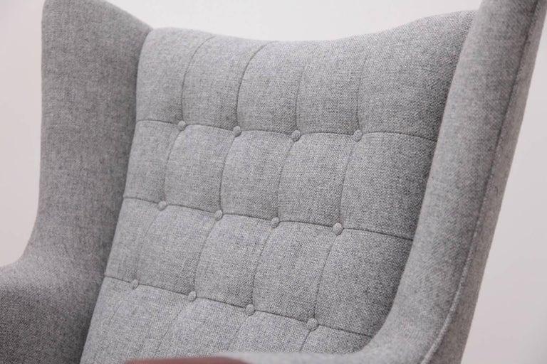 Mid-Century Modern Hans Wegner AP19 Papa Bear Chair for A.P. Stolen