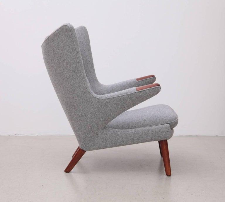 Danish Hans Wegner AP19 Papa Bear Chair for A.P. Stolen