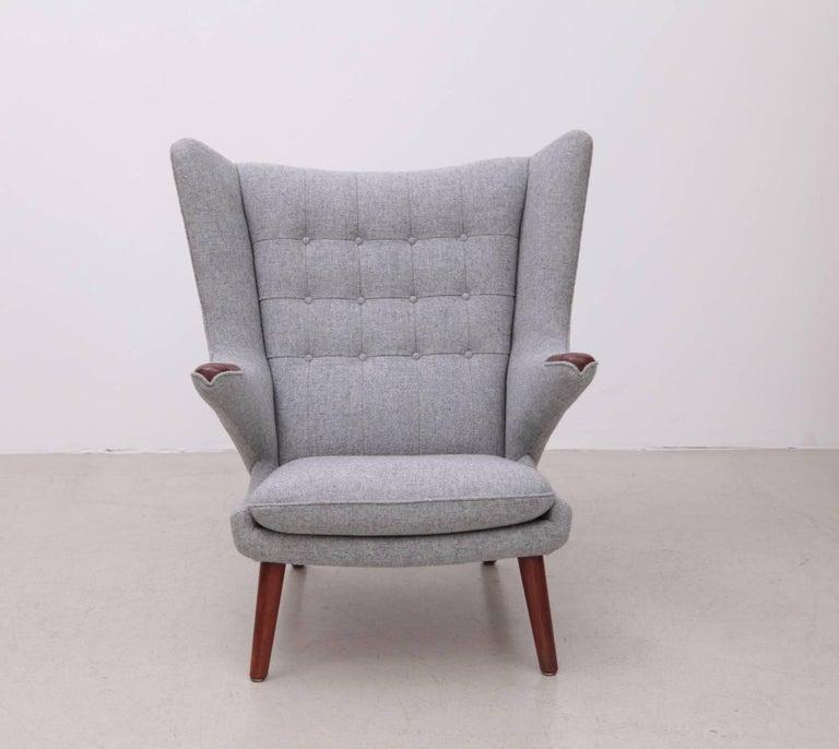 Mid-20th Century Hans Wegner AP19 Papa Bear Chair for A.P. Stolen