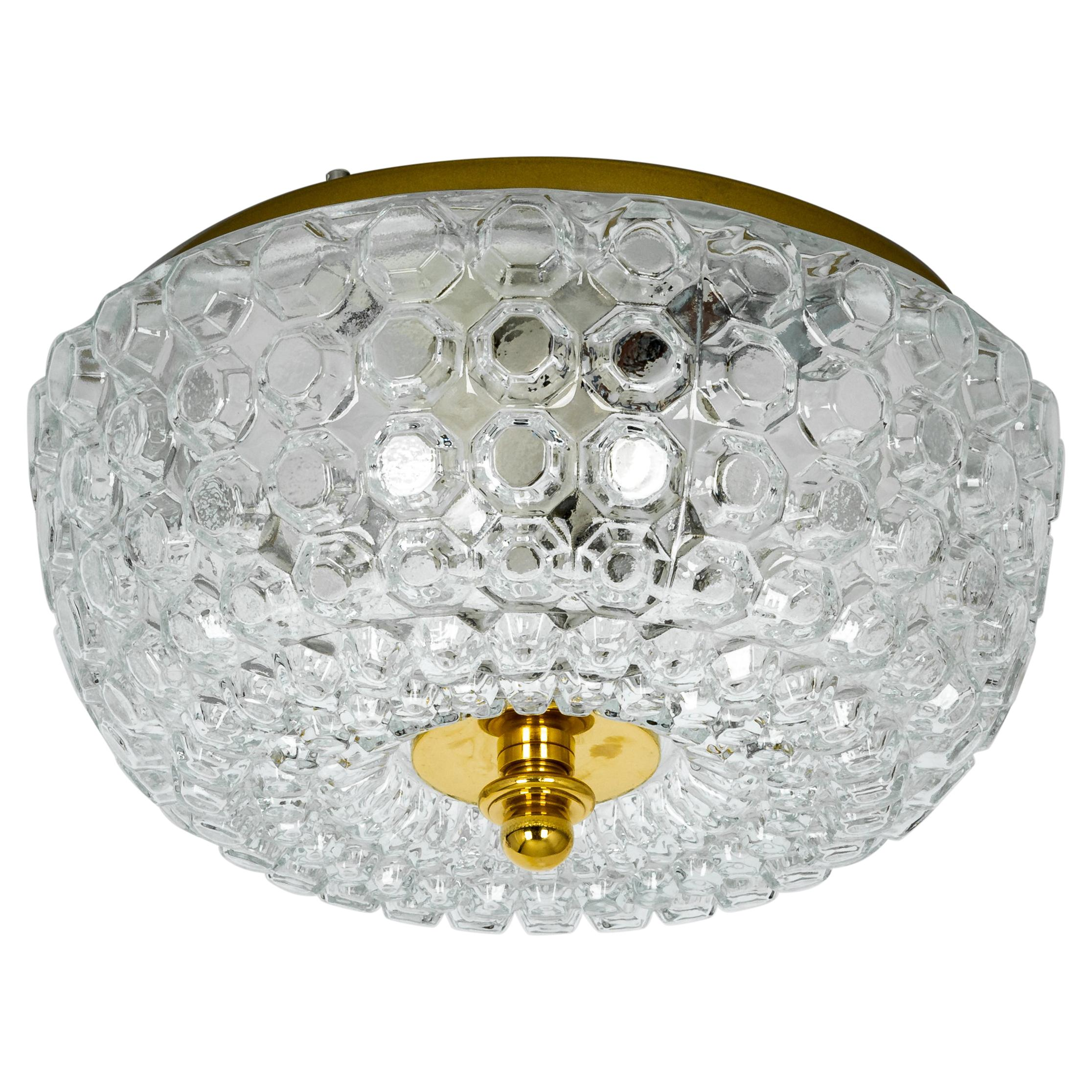 1 of 2 Midcentury Limburg Ceiling or Wall Light, Germany, 1970s