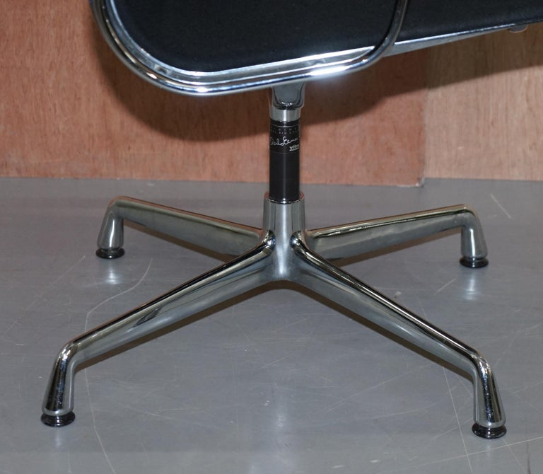 1 of 2 Original Vitra Eames EA 108 Hopsak Swivel Office Chairs For Sale 12