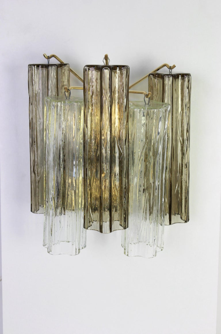 Mid-Century Modern 1 of 3 Pairs of Large Kalmar Sconces Wall Lights, Austria, 1960s For Sale