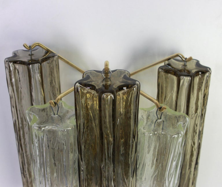 1 of 3 Pairs of Large Kalmar Sconces Wall Lights, Austria, 1960s In Good Condition For Sale In Aachen, DE