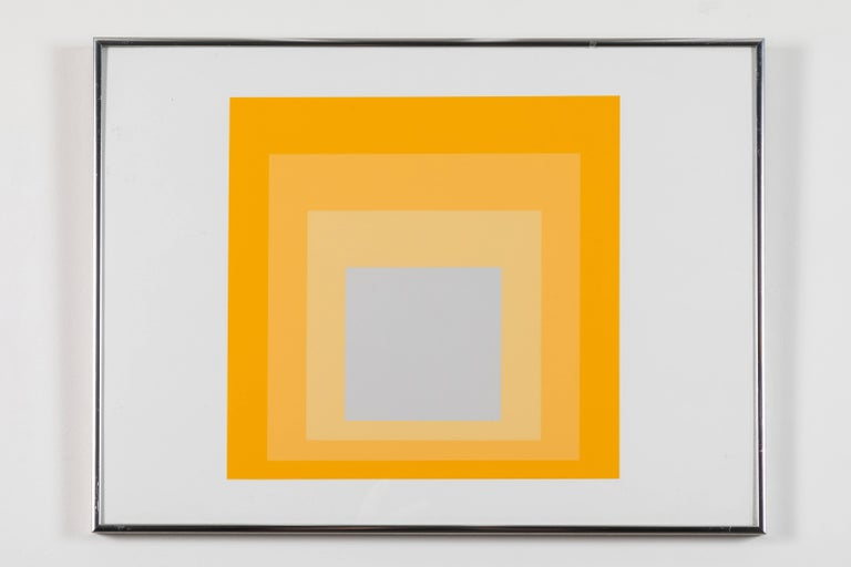 1 of 4 Folio Prints from Formulation Articulation by Josef Albers For Sale 2