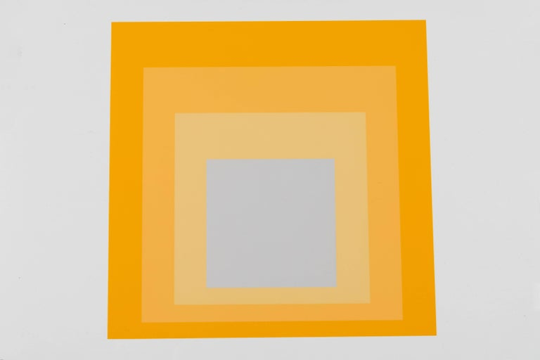 1 of 4 Folio Prints from Formulation Articulation by Josef Albers For Sale 3