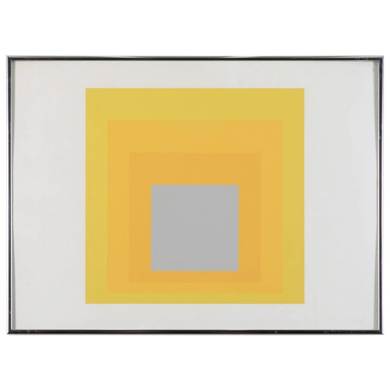 1 of 4 Folio Prints from Formulation Articulation by Josef Albers For Sale