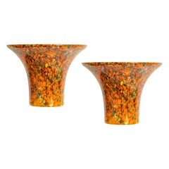 1 of 5 Exclusive Murano Glass Wall Sconce by Peill & Putzler, Germany